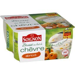 Soignon Yaourt brassé au lait de chèvre abricot