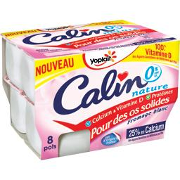 Calin - Fromage blanc nature 0% MG