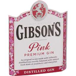 Gibson's Gibson's Gibson's pink, gin La bouteille de 70cl