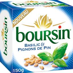 Fromage basilic & pignons de pin