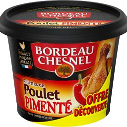 Bordeau Chesnel Rillettes de poulet pimenté
