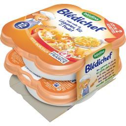 Blédichef - Méli-mélo de légumes, riz et poulet, dès...