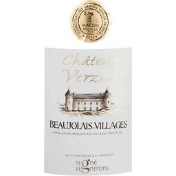 Beaujolais Villages vin rouge Château de Verzier