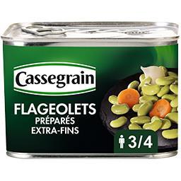 Flageolets cuisinés