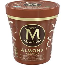 Magnum Magnum Crème glacée Almond vanille et éclats de chocolat le pot de 297 g