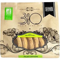 310 Bio Palet cathare sans gluten bio Le sachet de 150 gr