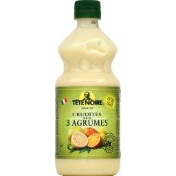 Sauce crudités aux 3 agrumes extra light, tradition de saulité, la bouteille de 55cl