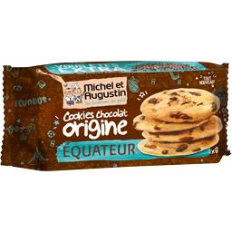 Cookies chocolat origine Equateur