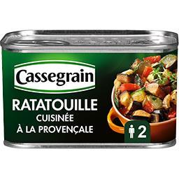 Cassegrain Cassegrain Ratatouille cuisinée à la provençale la boite de 380 g