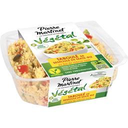Pierre Martinet Végétal - Taboulé de semoule de maïs riz jus de citr... la barquette de 250 g