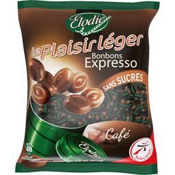 Le Plaisir Léger - Bonbons Expresso sans sucres café