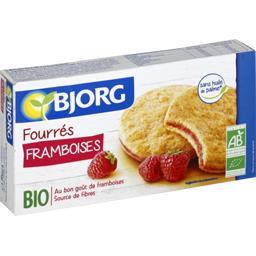 Bjorg Bjorg Biscuits fourrés framboises BIO le paquet de 6 - 175 g