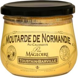 Toustain-Barville Moutarde de Normandie au Calvados Père Magloire le pot de 260 g