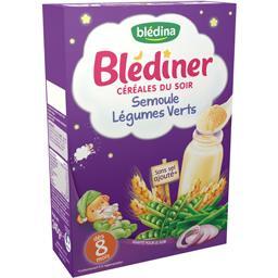 Blédîner - Céréales du soir semoule légumes verts, d...