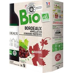 Bordeaux vin rouge BIO