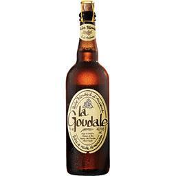 La Goudale La goudale Bière blonde à l'ancienne la bouteille de 75 cl