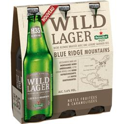 Bière blonde Wild Lager Blue Ridge Moutains