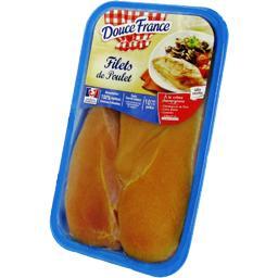 Filets de poulet jaune