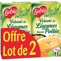 Liebig Pur'Soup - Velouté de légumes façon poêlée
