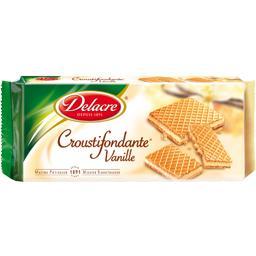 Gaufrettes fourrées Croustifondante vanille