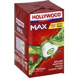 Hollywood Max - Chewing-gum parfums fraise citron vert