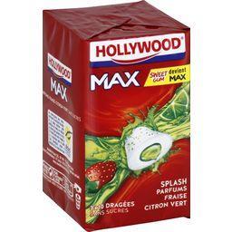 Hollywood Hollywood Max - Chewing-gum parfums fraise citron vert les 3 étuis de 22 g