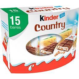 Country - Barres lait et 5 céréales
