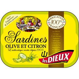Sardines olive & citron