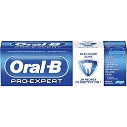 Oral B Pro-Expert - Dentifrice Blancheur Saine menthe