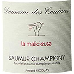 Saumur Champigny Domaine des Coutures- lieu dit la malicieuse vin Rouge 2017