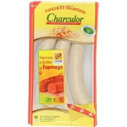 Saucisses à griller au fromage Charculor