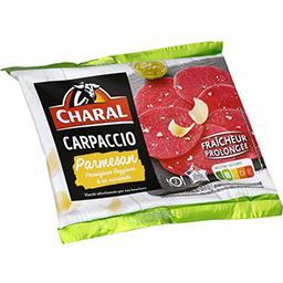 Charal Charal Carpaccio parmesan & sa marinade la barquette de 230 g