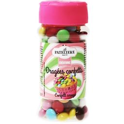 La Patelière Créations - Dragées confettis le flacon de 70 g
