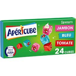 Apéricube Apéricube Fromage fondu Campagne la boite de 24 cubes - 125 g