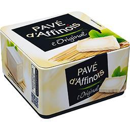 Pavé d'Affinois Pavé d'Affinois Fromage au lait de vache l'Original la boite de 200 g