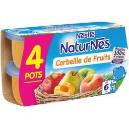 Desserts corbeille de fruits, dès 6 mois