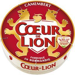 Cœur de Lion Coeur de Lion Camembert, fabriqué en normandie Boîte 0.2500