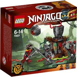 Ninjago - L'attaque des Guerriers Vermillion