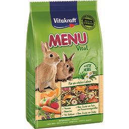 Aliment Menu Vital pour lapins nains