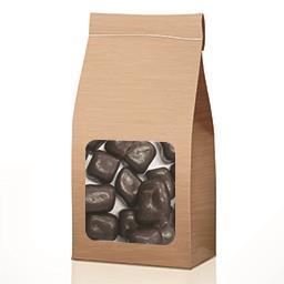 Cubes de coco enrobés chocolat noir en VRAC