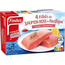 Findus Filets de saumon keta du pacifique