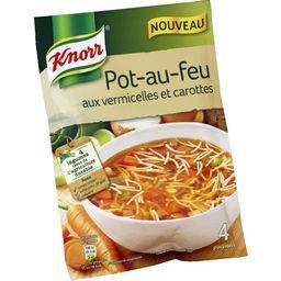 Knorr Knorr Soupe au pot-au-feu aux vermicelles et carottes le sachet de 55 g