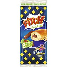 Pitch - Brioches Choco Barre choco lait goût noisette