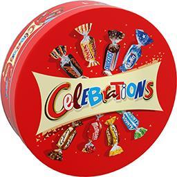 Célébrations Célébrations Assortiment de chocolats la boite de 435 g