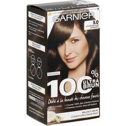 100% Ultra Brun - Coloration Le Châtain Clair Sensation 5,0