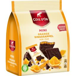 Mini chocolat noir orange