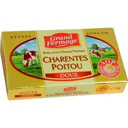 Beurre extra-fin doux Charentes Poitou