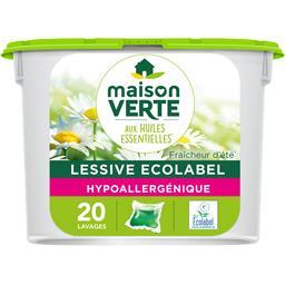 Maison Verte Doses de lessive liquide hypoallergénique