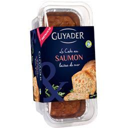 Le Cake au saumon laitue de mer