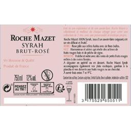 Roche Mazet Roche Mazet Vin mousseux Syrah brut rosé la bouteille de 750 ml